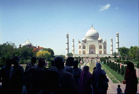 Digital design stock photography tajmahal india royalty for Taj mahal exterior design