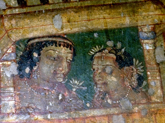 Value adding stock photography paintings indian art ajanta for Ajanta mural painting